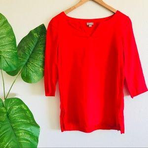J. Jill | Red tunic top